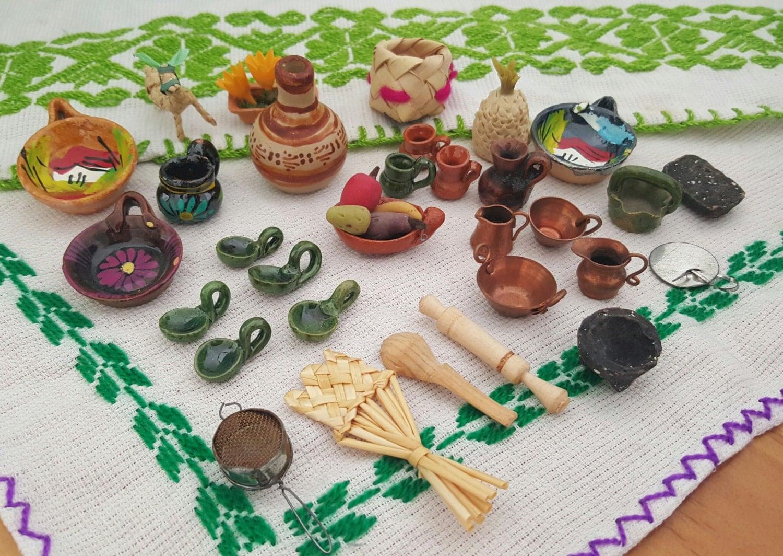 Cocina mexicana miniatura coleccion for Trastes de cocina