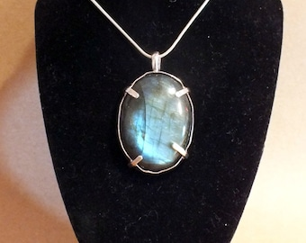 Labradorite silver sterling handmade jewels