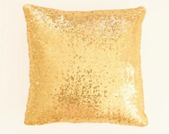 Gold Sequin Pillowcase