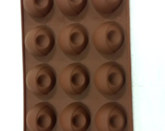 Taavi Dimpled Ball Silicone Mold (T830)