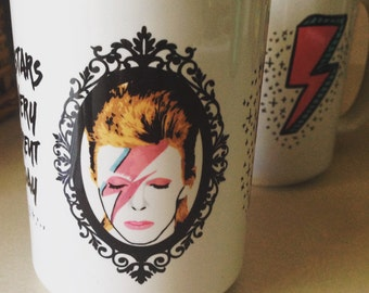 David Bowie Ziggy Stardust 15 oz. Coffee Mug