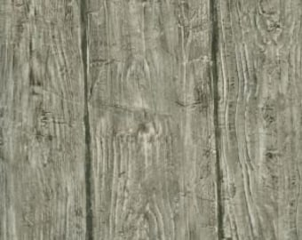 Barn Board Outhouse Wood Wallpaper Grey - HTM49415 - Sold by the Yard