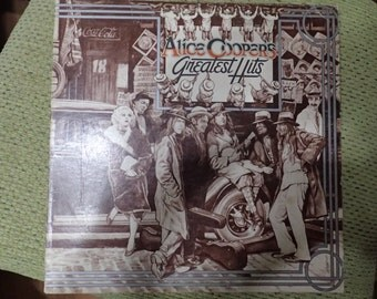 Vintage Vinyl Record Alice Cooper Greatest Hits
