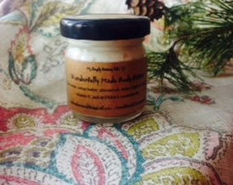 Organic All Natural Shea & Cocoa Whipped Body Butter 1.5 oz