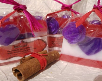 Be my Valentine hand made soap