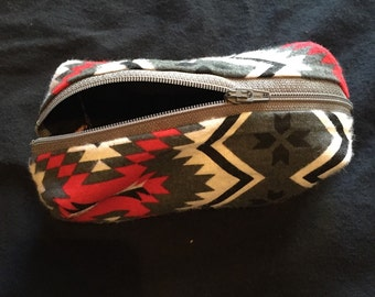 Red and grey tribal