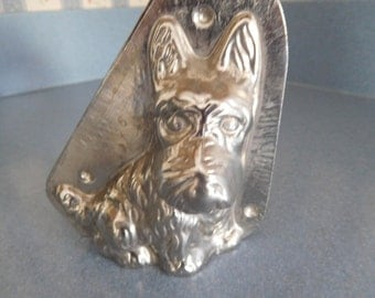 Scottie Dog by Vormenfabriek #15556 Vintage Metal Candy Mold