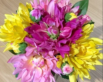 The 'Dahlia Flowers' Bouquet