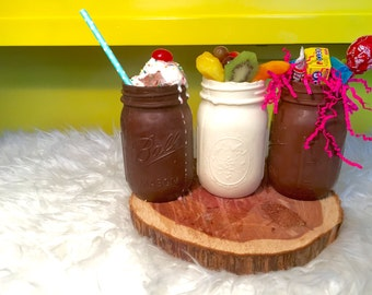 Edible Chocolate Mason Jars FREE SHIPPING