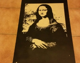 Burning Mona Lisa