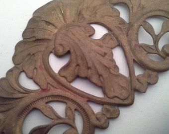 Ornate metal trim