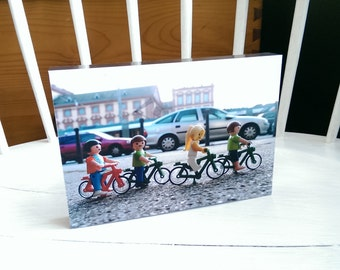 Cycling in Mannheim - on aluminum frame