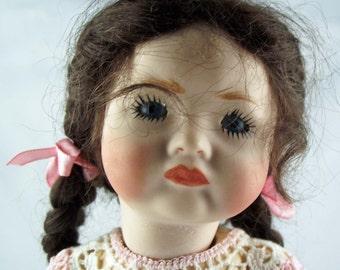 """Antik Repro doll """"SFBJ Pouty"""", ca. 20 cm"""