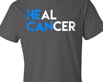 He Can Heal Cancer, Christian Shirt