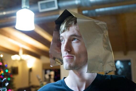 Minimalist Aluminum Foil Hat - gag gift - joke gift - white elephant gift - nasty christmas present - mind control protection - alien hat