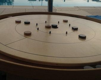 Crokinole regular game Board-game board regulate