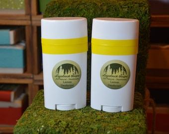 Lemon Deodorant - handmade, all natural, aluminum free