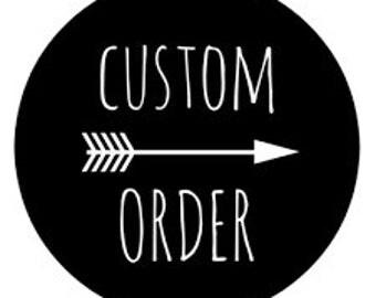 Toddler T-shirt Custom Order