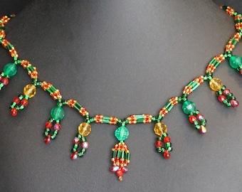 Devi Bead Necklace #005