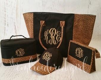 Black Leopardista Set