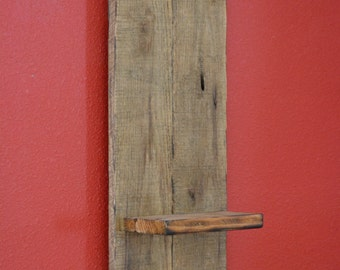 Rustic Shelf, Pallet Shelf, Reclaimed Pallet Wood, Shabby Chic Shelf