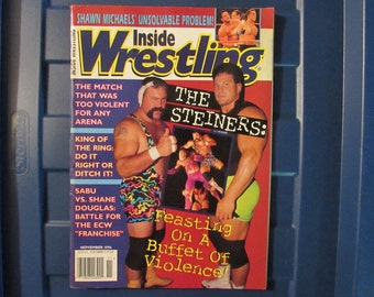 Inside Wrestling Nov 1996 The Steiners