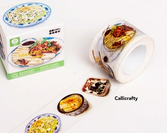 Food Cuisine Japanese  Washi Tape White Masking Tape