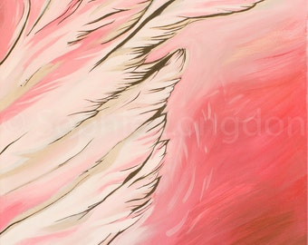 Protected by Angels Signed A4 Fine Art Giclée Print