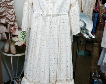 Country Eyelet dress