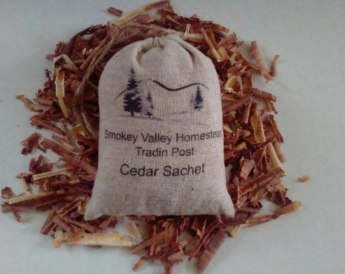 Cedar Sachets, Eastern Red Cedar Sachets, Cedarwood Sachets, Eastern Red Cedar Shavings , Drawer Sachets