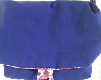 Blue messanger bag