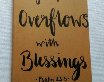 Prayer journal- My Cup//