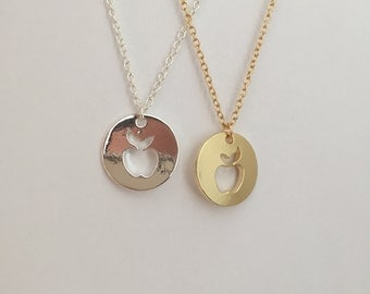 Apple Emblem Necklace