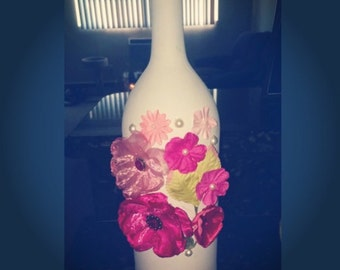 Beautiful hand painted vase