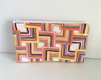 Notions Case, Knitting Notions Pouch, Zippered Notions Pouch, Crochet Hook Case, Needle Bag, Notions Holder, Thread Case, Knitting Bag