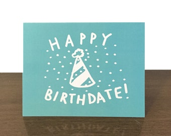 Happy Birthdate Card - Happy Birthday Card - Greeting Card Birthday