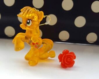 Applejack My Little Pony Dangle Earrings