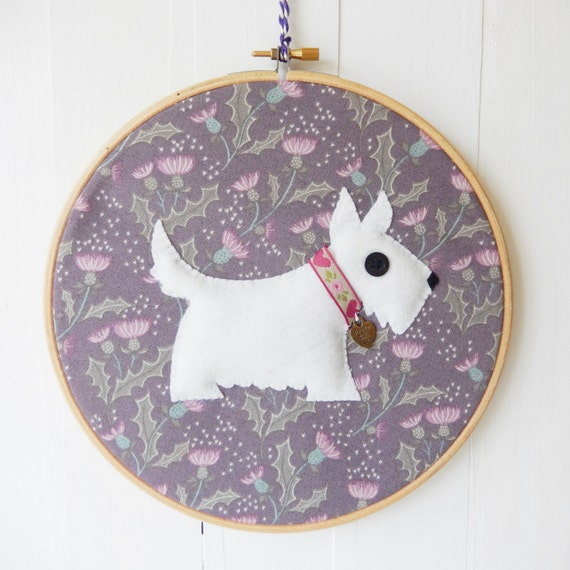 Hand embroidered hoop art wall hanging cm wooden embroidery