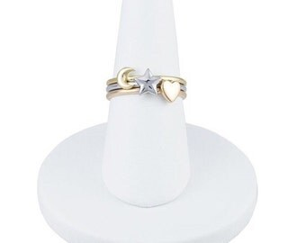 14K Stacking Rings