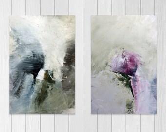 Abstract prints set, Wall art prints, Painting print Home decor art print Printable set Office Wall art Modern abstract art print set