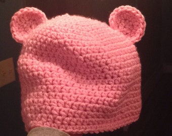 Baby Bear Ear Hat