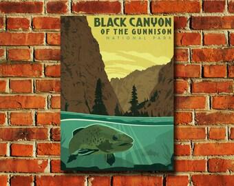 Black Canyon National Park Poster - #810