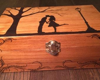 First kiss box