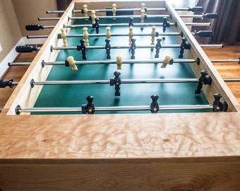 Handmade Maple Foosball table