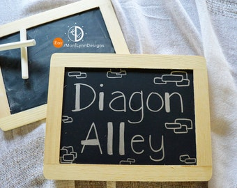 Diagon Alley - Harry Potter Sign