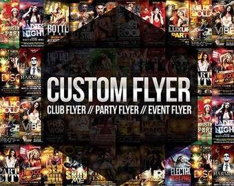 Custom Flyer design - Business flyer, Event Flyer, party Flyer, Product Flyer, Graphic Design,flyer design.