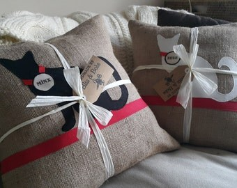 Personalised Cat cushions