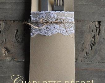 Cutlery custom pouch