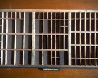 Vinage Wooden Type Drawer