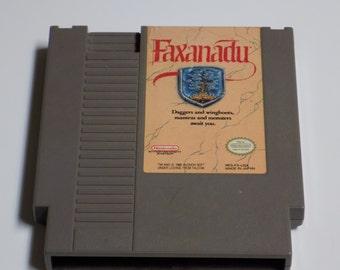 Faxanadu - Nintendo NES Game